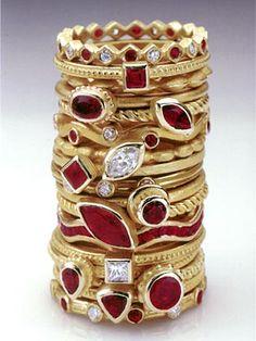 Barbara Heinrich - Jewelry Gallery - Jewelry Gallery - Ganoksin Orchid in 2019 Ruby Jewelry, Gold Jewelry, Jewelry Rings, Fine Jewelry, Jewellery Box, Tiffany Jewellery, Jewlery, Bullet Jewelry, Gothic Jewelry