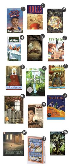 4th Grade Book Recommendations~  This list from This Lunch Rox, is a great place to start when stocking a classroom library or encouraging a reluctant reader to try a new book.