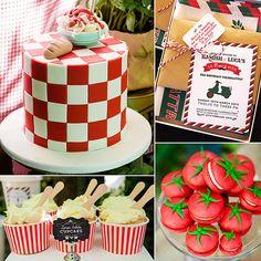Twin Boys Italian Birthday Celebration