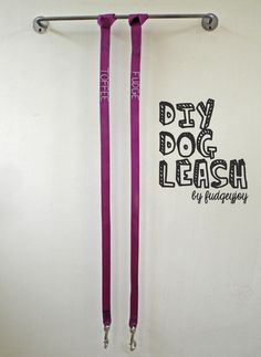 I already know how to do this, bit just in case memory fails. I am never going to buy a nylon leash for my dogs.