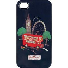 Adorn your iPhone with our classic London print and keep it safe from anything nasty in this hardwearing case. The fun design will make it easy to spot in your handbag and save you from missing any of those important calls!