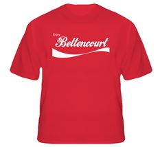 Bettencourt Enjoy Cola Parody Custom Name T Shirt
