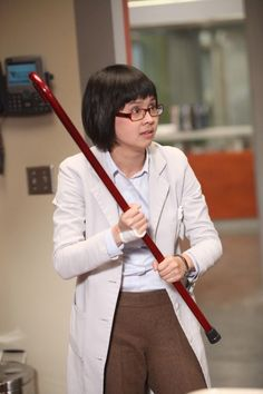 """Park (Charlyne Yi) in the """"Holding On"""" episode of HOUSE."""