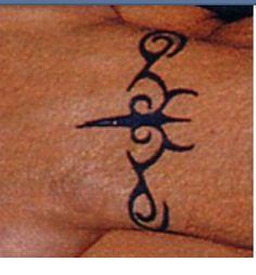 Eminem wrist tattoo