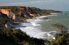 Vista das praias de Tambaba e Tabatinga, no litoral sul da Paraíba (foto…