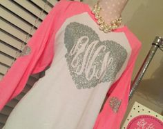 Valentines Day Love Monogram Adult T Shirt Adult