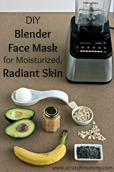 DIY Blender Face Mas