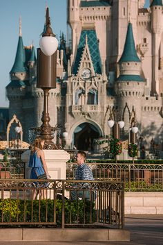 This real Walt Disney World engagement is all kinds of magic