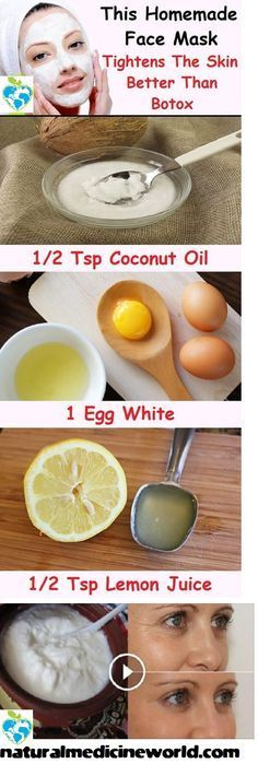 DIY Mask : SHE IS 38 YEARS OLD AND LOOKS LIKE 28 SHE USES ONLY 2 NATURAL INGREDIENTS TO LO