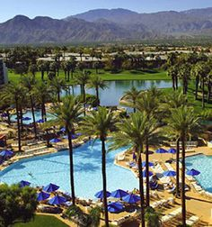 JW Marriott Desert Springs Resort & Spa, Palm Desert- nice looking resort and spa. Convenient location, since you will be in the area the week before.