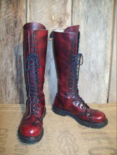 Vintage Gripfast Mens Lace Up Made In England by BarnDoorBootique, $219.00