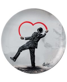 Royal Doulton Street Art Plate by Nick Walker
