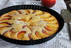 La crostata pesche e ricotta è un dolce con frutta fresca facile veloce ed economico. In meno di un'ora si prepara si cuoce e si mangia.