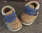 """Crochet Boots Pattern for baby boys Shoes """"Cairo Boots"""" PATTERN ONLY"""