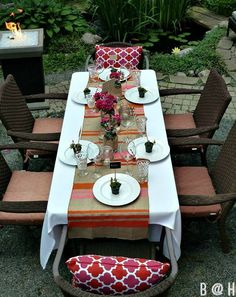 Summer Dinner Party via Bliss at Home