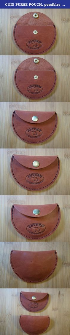 """COIN PURSE POUCH, possibles bag,earbud holder. cord keeper. stash bag. made in the U.S.A. (Love it or your money back). MADE IN THE USA. 5-6 OUNCE FULL GRAIN LEATHER COIN POUCH WITH SOLID BRASS SNAP. MADE IN THE U.S.A. Hand made in my studio 4"""" x 3"""" Very slim for your front pocket PURSE OR IN YOUR CAR Fully tanned brown 5-6 oz premium cowhide oil tanned leather This premium leather will develop a rich patina with time Made to last. Only gets better with time. Beautiful premium leather…"""