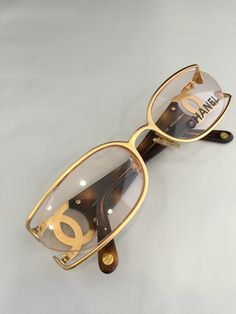 1471af369ab Authentic vintage CHANEL Eye glasses  2020 by athensoptical on Etsy Chanel  Glasses