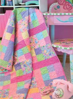 Friday Free Quilt Patterns: Frosted Candy | McCall's Quilting Blog