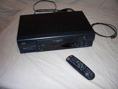 JVC HR-A591U VHS VCR Video Cassette Player/Recorder, HI FI 4 HEAD w/ REMOTE #JVC