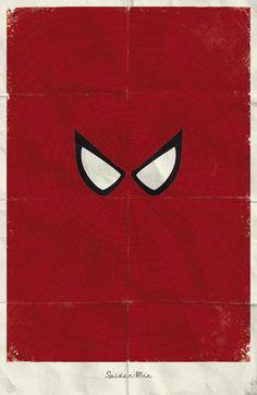 Personagens Marvel em Cartazes Minimalistas // Designerd