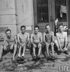 American POWs at the Hanoi Hilton. A couple blocks away Hanoi Jane (Jane Fonda) was having a photo op with the torturers of these Americans. Never Forget! Jane Fonda, Bataan Death March, Joining The Military, History Magazine, Prisoners Of War, Pearl Harbor, Vietnam War, South Vietnam, World War Two