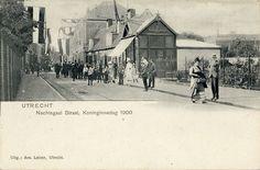 Nachtegaalstraat Utrecht Koninginnedag 1900