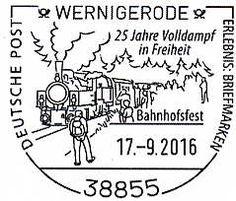 Bahnhofsfest in Wernigerode http://www.deutsche-briefmarken-zeitung.de/2016/09/16/bahnhofsfest-in-wernigerode/