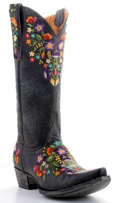 Womens Old Gringo Sora 13inch Boots Black #L841-2 (via @Allens Boots)