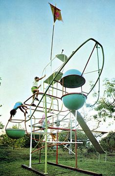Radakovich designed playground from the 1960's. SmallforBig.com