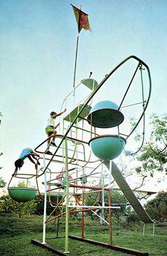 Radakovich 1960's playground jungle gym