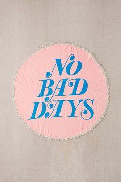 d9b19913a20 Slide View  1  ban.do No Bad Days Oversized Round Beach Towel Beach