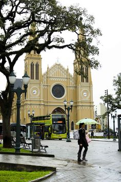 Curitiba , Paraná, Brazil. It is really beautiful and clean. I love it!