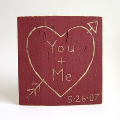 Personalized Wedding Sign wedding decor Heart & by TheLonelyHeart, $20.00