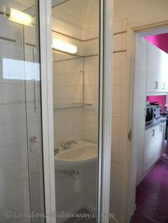 Bathroom - Wall-mounted ,shower, Sink ,Towel ,heater ,Separate, toilet, Hair dryer, Towels provided Towel Heater, Furnished Apartments, Bloomsbury, One Bedroom, Bathroom Wall, Hair Dryer, Wall Mount, Separate, Towels