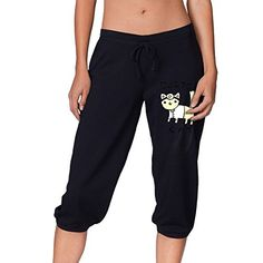 Yo Ou Sport Casual Capri Pants Shorts Cropped Trousers Outdoor Cropped Pants For Women Running Pants, Sport Shorts, Sports Leggings, Yoga Pants, Harem Pants, Women's Shorts, Dance Pants, Running Wolf, Yoga Capris