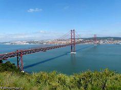 Visiter Lisbonne - Pont du 25 Avril