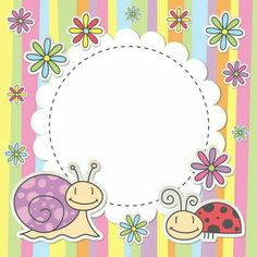 Find Cute Kid Card Snail Ladybug stock images in HD and millions of other royalty-free stock photos, illustrations and vectors in the Shutterstock collection. Cute Kids, Cute Babies, Monogram Binder, Cute Frames, Quilt Labels, Borders And Frames, Backgrounds Free, Baby Scrapbook, Note Paper