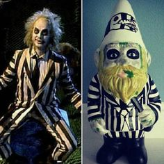 The beetle juice gnome by ianthegnome on Etsy, $75.00