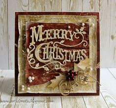 Dzisiejsze świąteczne kartki powstały   z papierów  Riddersholm Design      Napis i gwiazdki z wykrojników  Crafty Ann                   ...