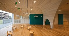 Leimond-Shonaka Nursery School  Architects: Archivision Hirotani Studio  Location: Owariasahi, Aichi, Japan  Architect In Charge: Hirotani Yoshihiro, Ishida Yusaku  Area: 1,018 sqm  Year: 2011
