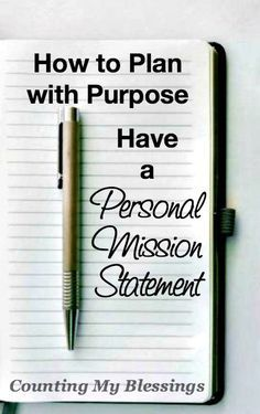 004 Personal Mission Statement