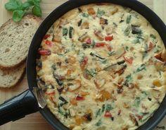 Pieta's hapjes: Frittata met geroosterde groenten en kippendijfilet