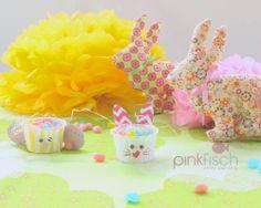 Tutorial - candy rabitt & chick by Pinkfisch - Hallo Osterhase! http://www.pinkfisch.ch/shop/oster-crafting-by-pinkfisch