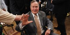 George H.W. Bush hospitalized day after wife's funeral