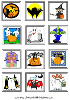Printable Halloween stickers for kids  http://www.kidprintables.com/stickers/halloweenprint.html