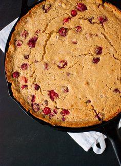 Cranberry-Maple Skillet Cornbread
