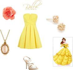 belle modern dress