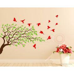 Stickers, Modern, Home Decor, Madness, Trendy Tree, Decoration Home, Room Decor, Home Interior Design, Home Decoration
