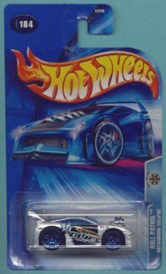 Mattel Hot Wheels 2004 1:64 Scale Silver & Black Roll Patrol Mitsubishi Eclipse Police Die Cast Car #184 $0.25