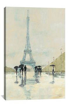 iCanvas 'April in Paris - Avery Tillmon' Giclée Print Canvas Art available at #Nordstrom 26x18 Sale: $39.90 After Sale: $60.00 Item #1135050 40x26 Sale: $67.90 After Sale: $102.00 Item #1135050